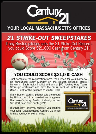 Century 21 - 21 Strike-Out Challenge